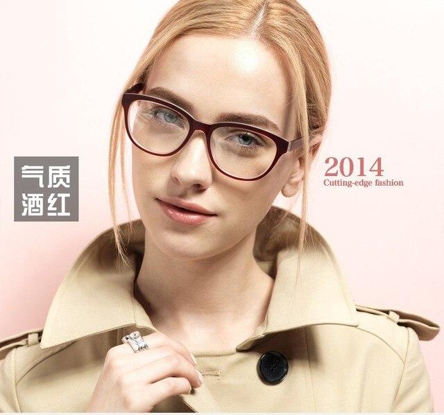 Очки женщин очки кадры очки кадр полный обод очки кадр оптических Tr-90 Бренд Дизайнер Ретро Очки Кадр 5863