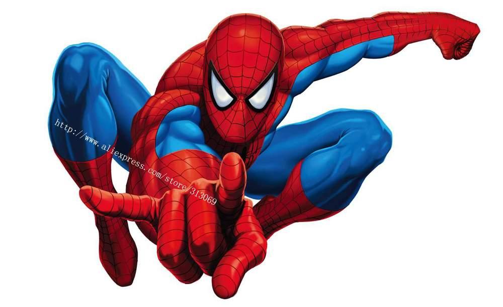 Env o gratis spiderman etiqueta de la pared extra ble - Pegatinas para las paredes ...