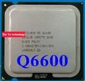 Lifetime warranty Core 2 Quad Q6600 2.4GHz 8M Four nuclear threads desktop processors CPU Socket LGA 775 pin Computer