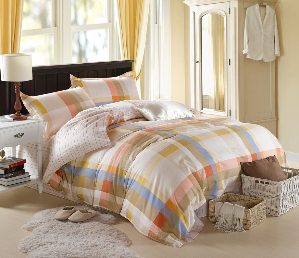 popular hotel type beddingbuy cheap hotel type bedding lots from  - queen duvet cover sets cotton pc bed skirt type bed sheet set