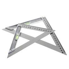 150 мм треугольная линейка 90 сплав с бусинами горизонтальный деревообрабатывающий измерительный инструмент
