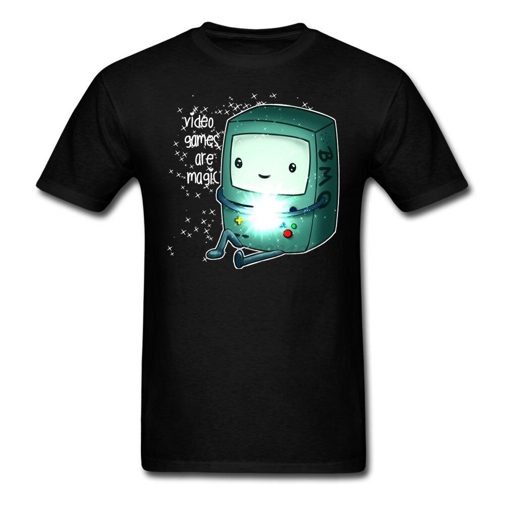 Tamaño M Para Adultos de Metal Camisetas videojuegos son magia ropa Bonita Para