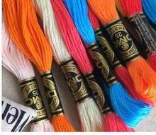 Oneroom 100% Reiner Baumwolle Insgesamt 100 Stück Original Französisch DMC Gewinde Stickerei Kreuz Stich Floss Garn Gewinde Schnelle Versand