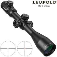 Leupold до 6 24x50 тактический оптический прицел Оптический Прицел Снайперская Охота тактильный прицел для ружья для страйкбола винтовка