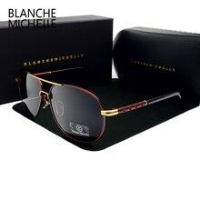 Yüksek kaliteli güneş gözlüğü erkekler polarize UV400 sürüş güneş gözlüğü erkek Vintage parlama önleyici Sunglass 2020 okulary oculos ile kutusu sunglasses men sun glasses man sunglass mens