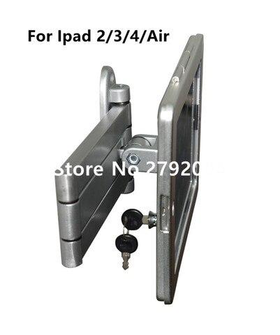 elastica portatil flexivel ipad wall mount flat almofada de bloqueio de exibicao de seguranca tablet