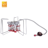 BULIN BL100 - B6 - A Mini Outdoor Camping Foldable Split Type Cooking Stove Picnic Gas Burner with Pouch
