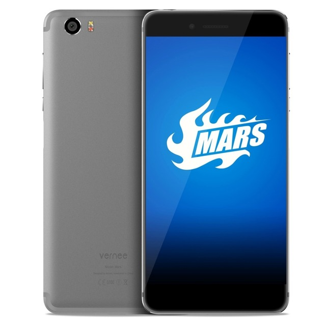 vernee Mars 32GB ROM 5.5 inch Screen Android OS 6.0 Mobile Phone MTK6755 Octa Core 2.0GHz RAM 4GB OTG Dual SIM 13MP Camera
