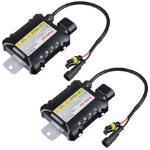 2pcs Hid Xenon Ballast 55W Block Ignition Electronic Ballast 35w Digital Slim Hid Ballast For HID kit Xenon H7 H4 H1 H3 H11 12V free shipping car hid xenon ac 12v 35w super slim conversion ballast for h1 h2 h3 h5 all size [ac16]