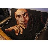 Tapestry Wall Hanging College Dorm Room Decor Macrame Sofa Towel Home Decoration Blanket Carpet Reggae Rock Star Bob Marley