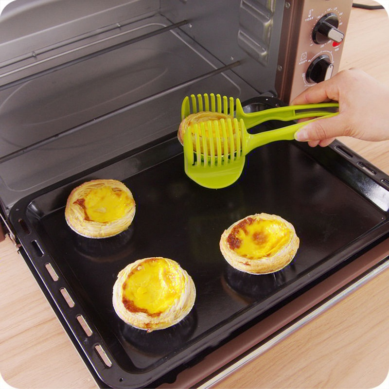 Plastic Tomato Slicer Potato Fruits Cutter Tool Onion Shreadders Lemon Cutting Holder Cooking Tools Kitchen Accessories (1)