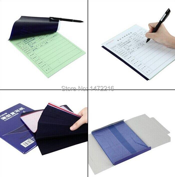 Купить с кэшбэком Comix D4032 copy carbon paper duplicating paper 100sheets size 128*85mm ,color : blue free shipping