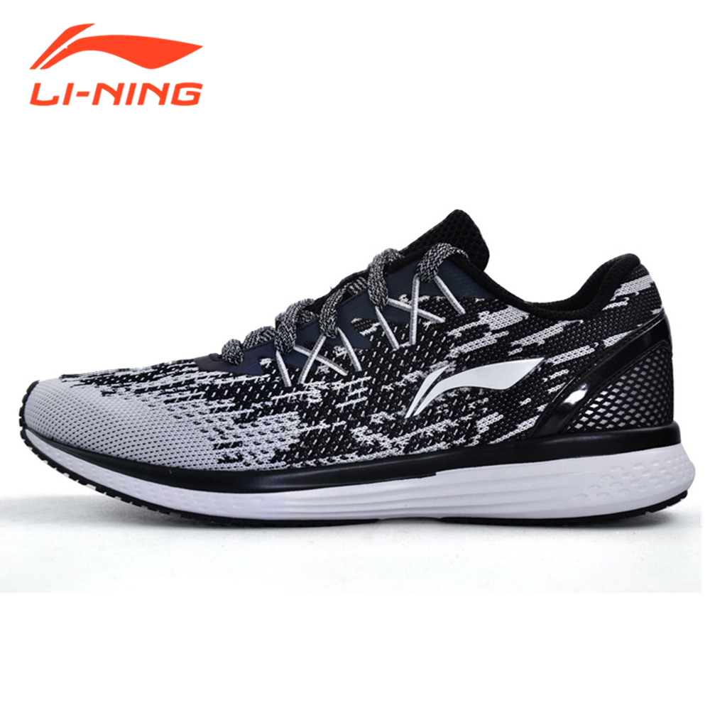 Li-Ning Women Sneakes 2017 Speed Star Cushion Running Shoes Breathable Textile Light Sports LiNing Brand Shoes ARHM082 original li ning men professional basketball shoes