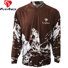 FURY RACE 2017 Summer Downhill Jerseys Motorcycle MX Offroad Clothes Racing Riding Mountain Bike MTB T Shirts Men DH Clothes