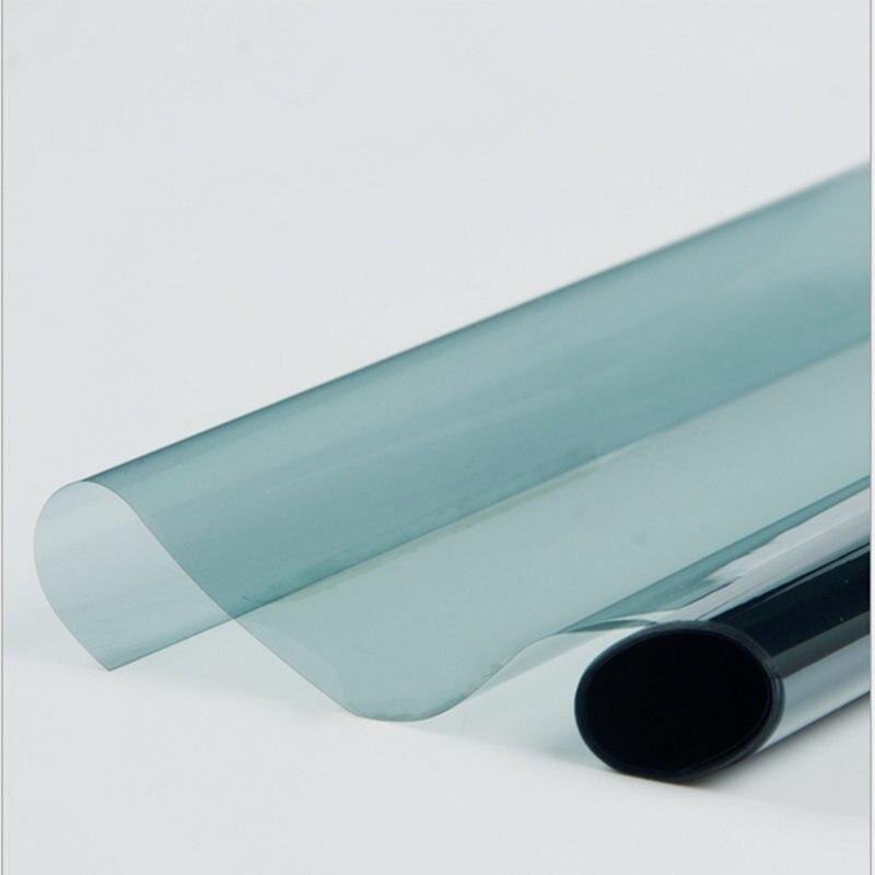 65% VLT 2PLY lumière bleu fenêtre de voiture Nano céramique solaire teinte Film pare-soleil Anti chaleur résister à la teinture maison bureau Protection solaire