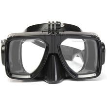 הר של צלילה צלילה משקפי שחייה צלילה מסיכת צלילה ושנורקל מזג משקפיים לgopro hero 2 3 3 + 4 ספורט פעולה מצלמה