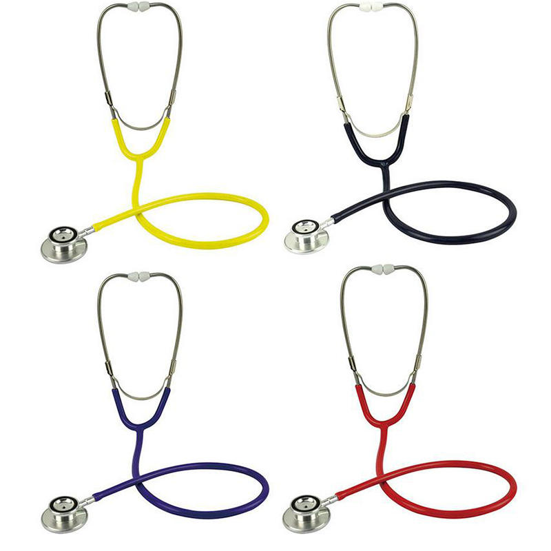 Free Shipping Portable Dual Head EMT Clinical Stethoscope Medical Auscultation Device Estetoscopio Littmann Fonendoscopio  EC031 portable penlight torch medical emt surgical first aid flashlights lights free shipping