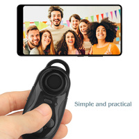 Mini Gamepad Bluetooth Gamepads Game Controller Joystick Selfie Remote Shutter Wireless Mouse For iOS Android Smartphone TV Box 3