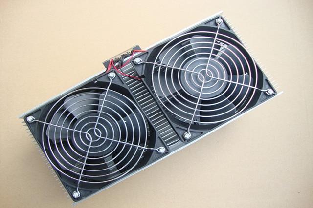 Réfrigérateur électronique climatiseur semi-conducteur double refroidisseur thermoélectrique Suite système de refroidissement par Air dispositif échangeur de chaleur