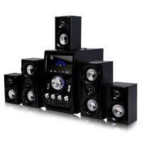 Consumer Electronics 2017 new hot computer speaker combination encoding 5.1 audio multimedia subwoofer desktop PC wood sound