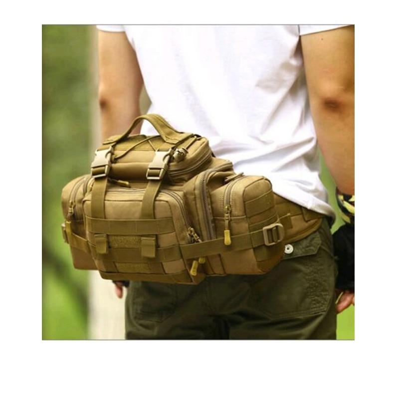 multi-purpose super SLR camera pocket the female bag Mens bags military travel 1680 d nylon big Waist pack inclined shoulder ba
