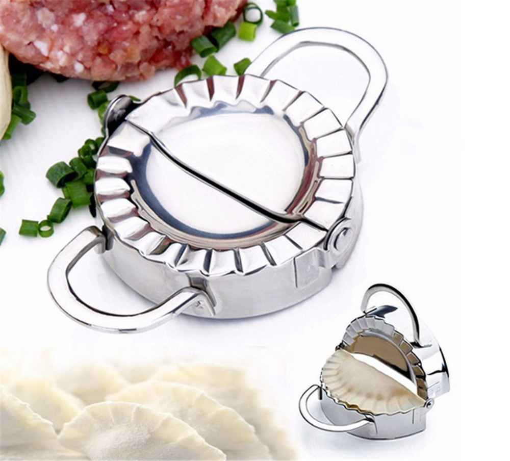 Tools stainless steel wraper dough cutter pie ravioli dumpling mould - Pie Tools Stainless Steel Dumplings Mold Maker Wraper Dough Cutter Ravioli Dumpling Mould Kitchen Accessories Baking Mold