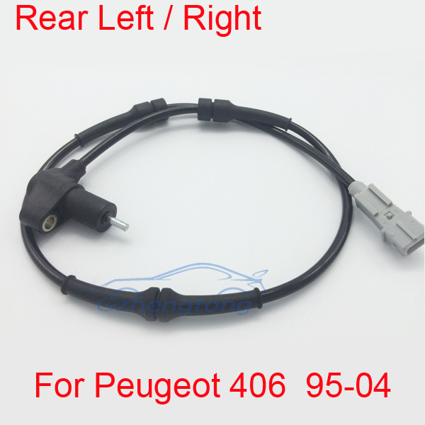 ABS Wheel Speed Sensor Rear for Peugeot 406 95-04  Hight Quality and Free Shipping