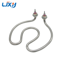 LJXH 220V 2500W Coil Heating Element for Boiled Water Bucket,Stainless Steel Electric Parts Heat Pipes for Heating Boiler/Tank цена и фото
