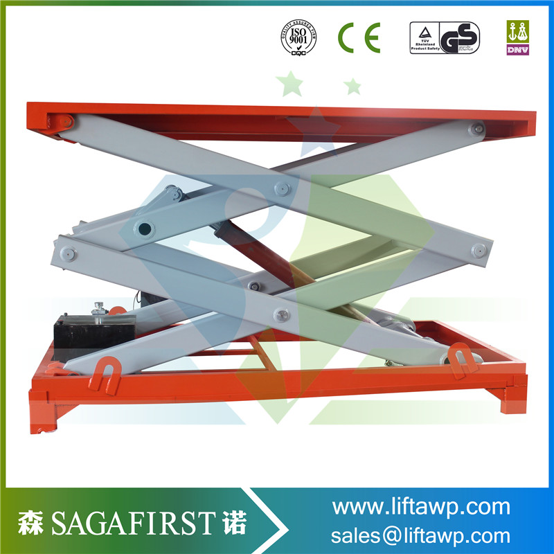 Hot Sale 2m 1000kgs Hydraulic Lifting Platform, Stationary Scissor Hydraulic Lifting Platform