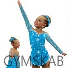 Платье для фигурного катания для женщин и девочек, платье для фигурного катания, Детский костюм для гимнастики 85017