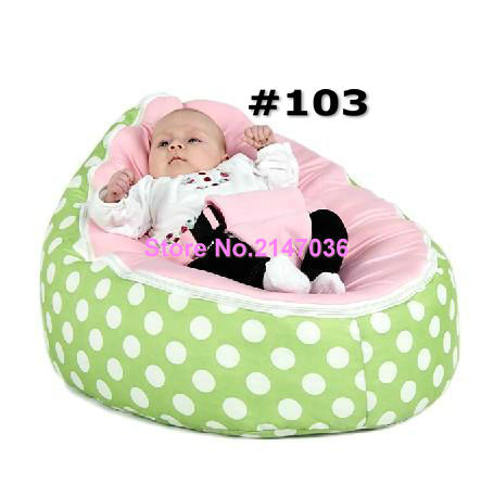 Green Polka With Blue White Pink Harness Seat Designer Hot Sale Baby Bean Bag In Living Room Sofas From Furniture On Aliexpress