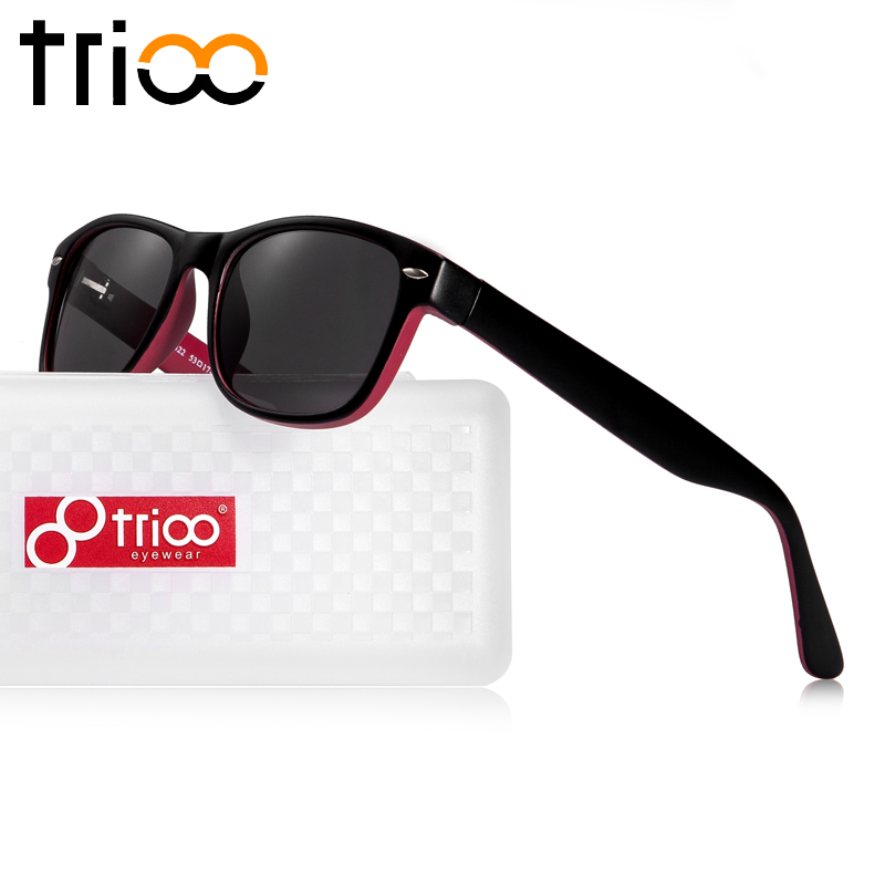 TRIOO Absolvent 0,25 zu 12 Frauen Sonnenbrille Rezept Objektiv Gläser UV400 Myopie Weibliche Sonnenbrille Brillen Zubehör - 2