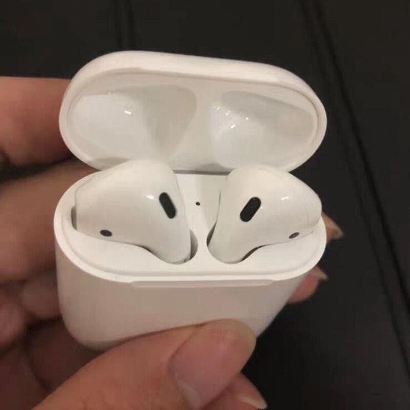 Touch sensing Mini Bluetooth Oreille Écouteurs Écouteurs sans fil (pas Air Gousses) 1:1 Casque Activer siri Pour Android apple iPhone x/8/7