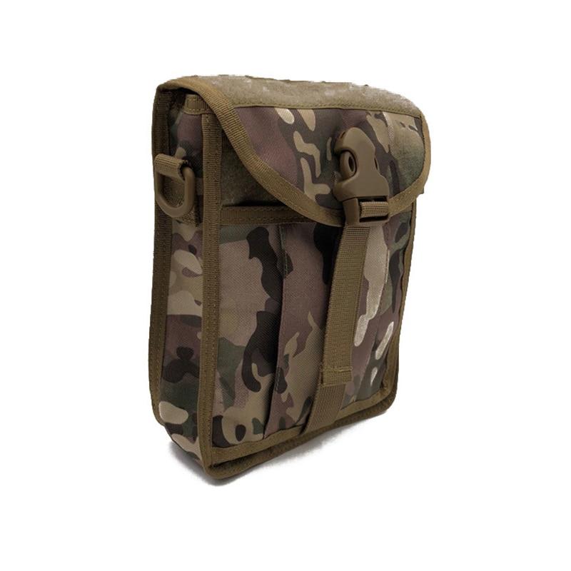 tan 1000d cp Borsa Outdoor Molle Messenger Del Solido Tracolla Bag purpose A Raccoglitore Nylon Multi Tattico Fibbia Black wTBqU