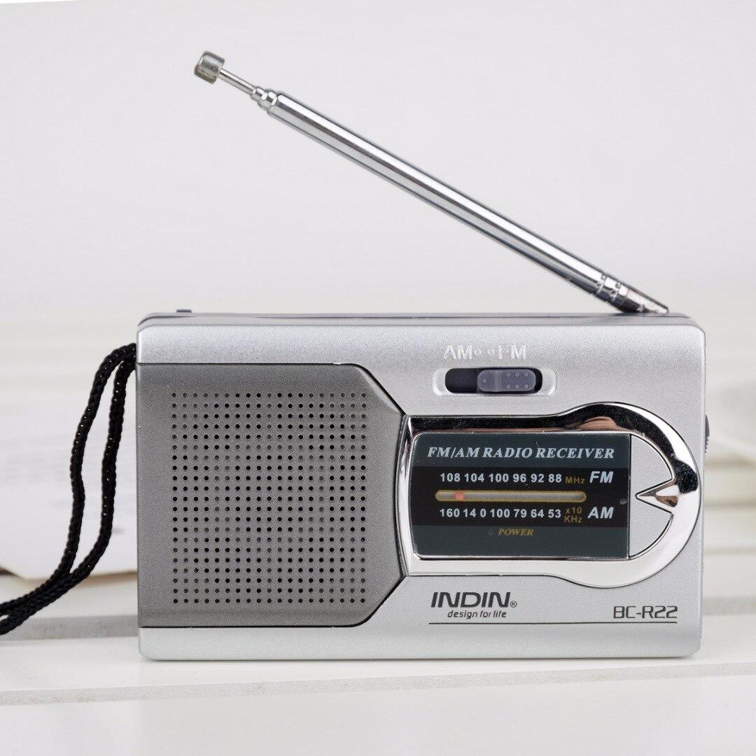 Radio Neue Ankunft 1 Stück Tragbare Am/fm Radio Bc-r22 Weltempfänger Teleskopantenne Schlanke Tasche Mini Größe Radio