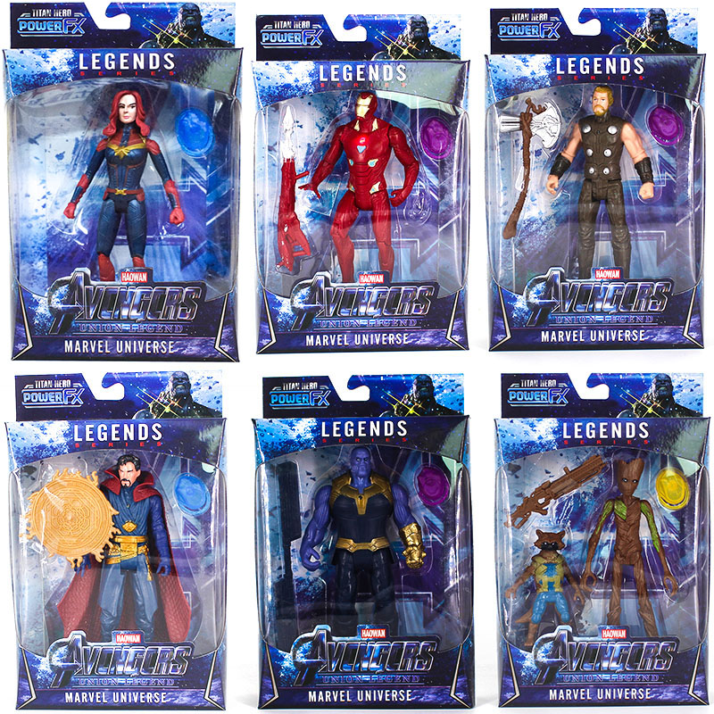 Avengers Endgame Infinity 4 Action Figures Toys for