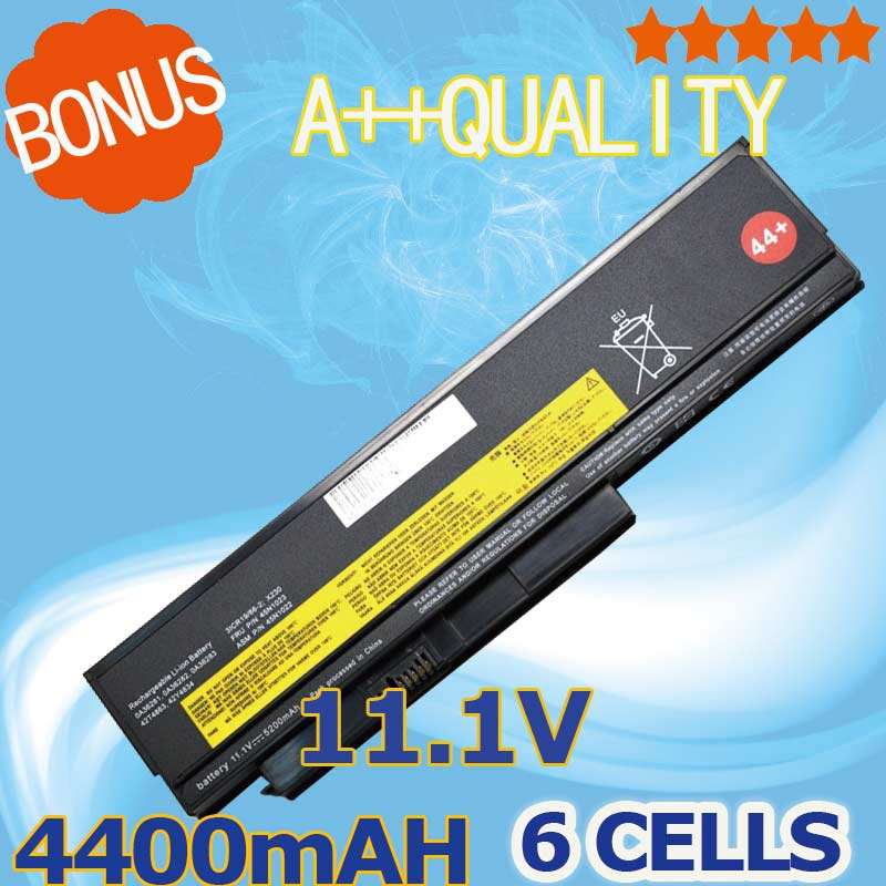 4400mAh battery for Lenovo ThinkPad X230 42T4901 42T4902 42Y4940 42Y4868 42T4873 42Y4874 42T4863 42Y4864 4400mah laptop battery for lenovo thinkpad x230 x230i for tablet 0a36285 0a36286 42t4877 42t4878 42t4901