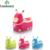 Assento do Toalete do bebê Dos Desenhos Animados do Kawaii Bebê Dobrável Potty Portátil para Recém-nascidos Infantil Assento Do Vaso Sanitário Higiênico Viagem Crianças Crianças Treinamento