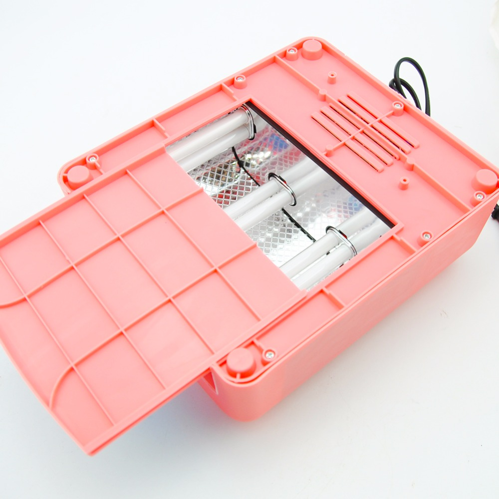 высокое качество 36 вт уф-лампа сушилка 110 в-220 в ес/сша plug ногтей лампы профессиональных гель для ногтей сушилка для ногтей леча свет ногтей инструменты