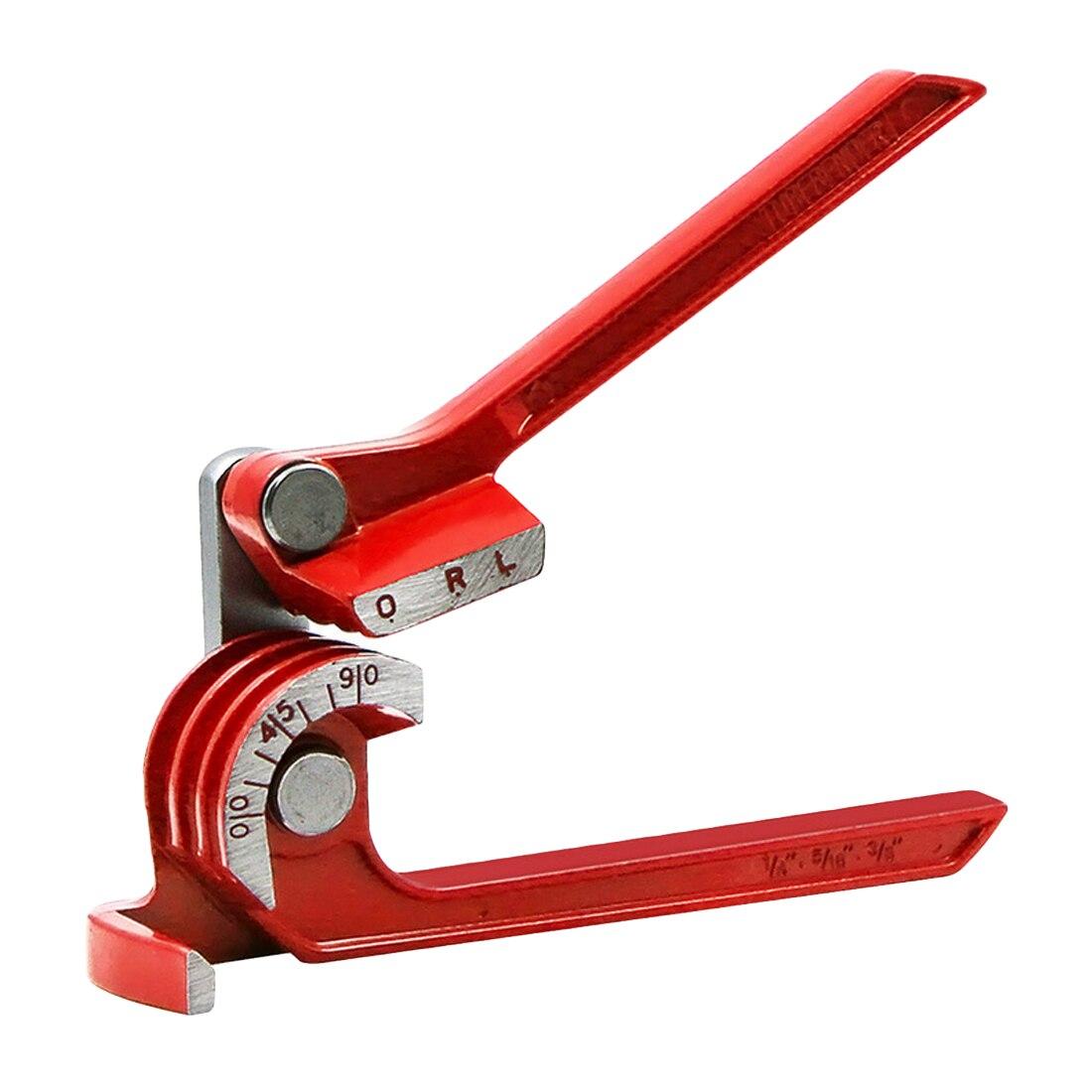 3 в 1 90/180 градусов трубогибочный инструмент Сверхмощный трубогибочный трубогиб из алюминиевого сплава трубогибочный тормоз топливная лини...
