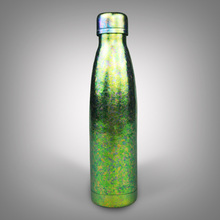 Tikungfu Titanium Thermos Vacuum Flask Coke Bottle Cup Kettle 500 ml Outdoor Travel Fashion Portable Frosted Light Peacock Green