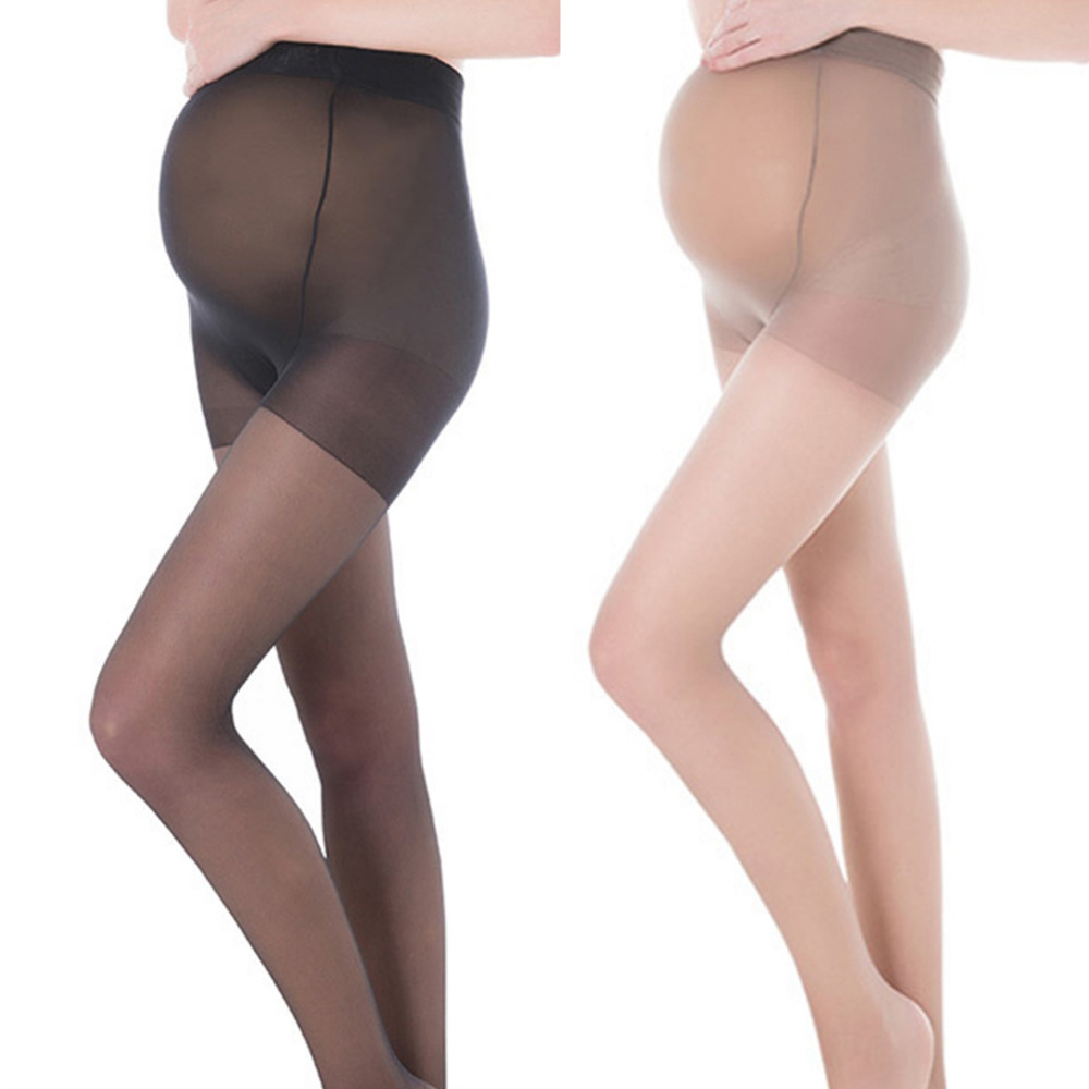 Maternity Ultra thin Tights Stockings Pregnant Women Pregnancy Pantyhose Adjustable High Elastic Leggings 8D pantyhose Колготки