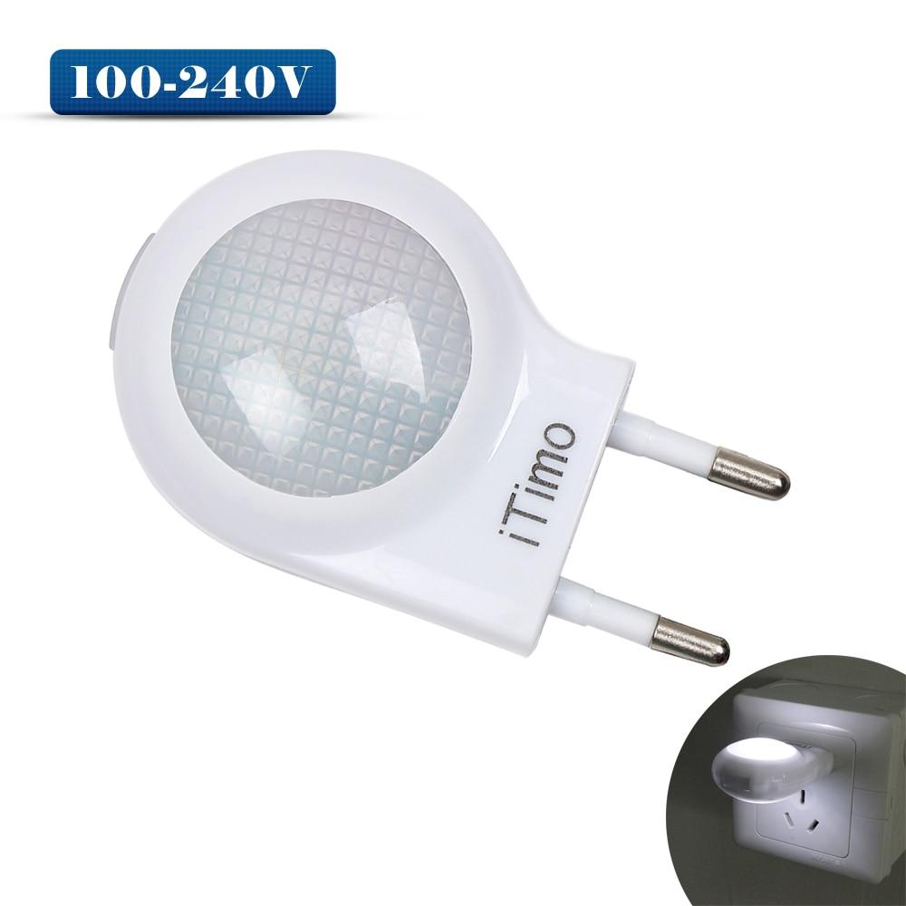 Itimo свет в ночь милый мини ночник Авто Сенсор Smart освещения Управление ЕС США <font><b>Plug</b></font> аварийного лампа для ребенка Спальня
