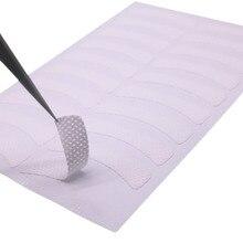 Медицинская не тканая ткань, патчи для ресниц под глазами, подушечки для наращивания ресниц, клейкая лента для ресниц, кончики для глаз, макияж, 100 шт./упак.