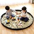 Portátil Toy Kids Brinquedos Organizador Storage Bag and Play Mat Sacos De Armazenamento Bin Box XL Moda Prático tapete de piquenique à prova d' água 64142