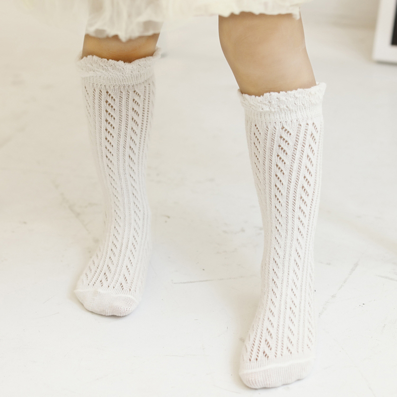 Sweet Newborn Baby Girl Socks Cotton Summer Infant Baby
