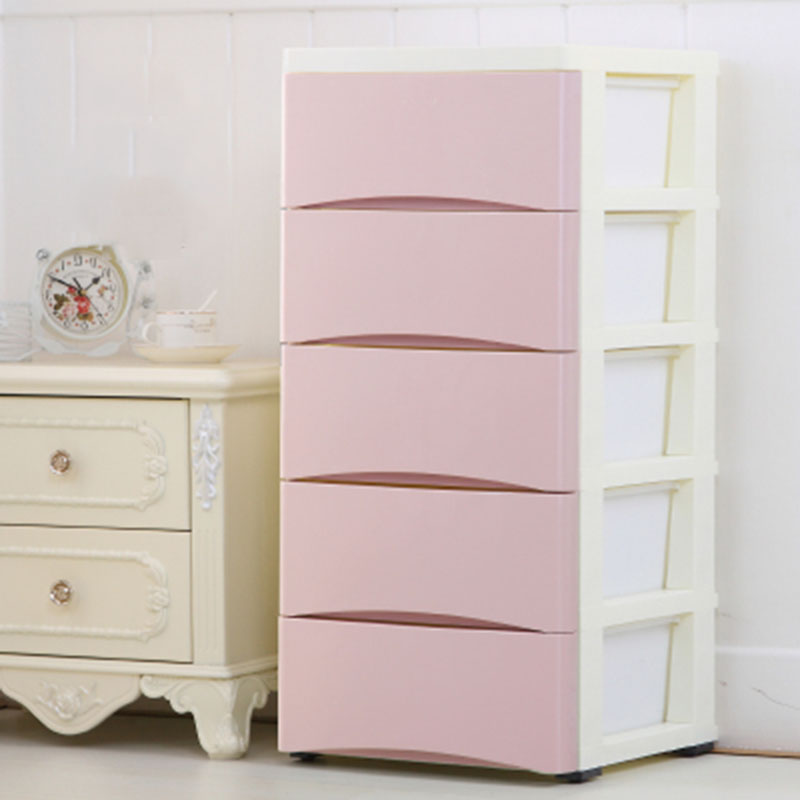 Minimalist Modern Fashion Wardrobe Diy Folding Portable Clothing Storage Cabinet Dust Proof Children Clothes Closet