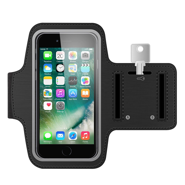 check out 80923 f5dc3 Running Arm Band Exercise Case For Samsung galaxy j7 2017 infinix note 4  pro note 5 Gym Belt Wrist Brassard Pouch Phone Case Bag
