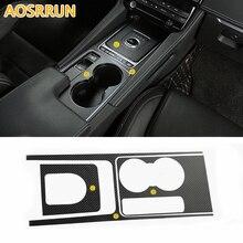 Автомобильные аксессуары стакан воды и Шестерни углеродного волокна крышка стикера автомобиль-Стайлинг для JAGUAR F-Темп x761