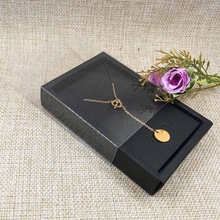 12 pcs. in a package, 4 kinds of colors jewelry, cardboard gift packaging Boxes for necklaces, earrings, jewelry, jewelry pendants Packaging Display Rectangle11.5 * 8 * 2.0 cm